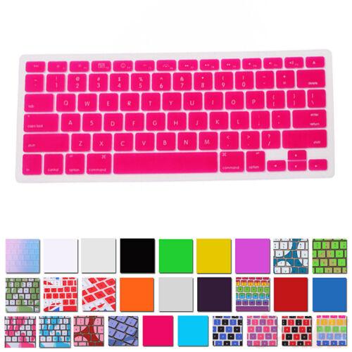 """Silicone Keyboard Design Skin Cover For Apple Macbook Pro Non-Retina 13/"""" 15/"""" 17/"""""""