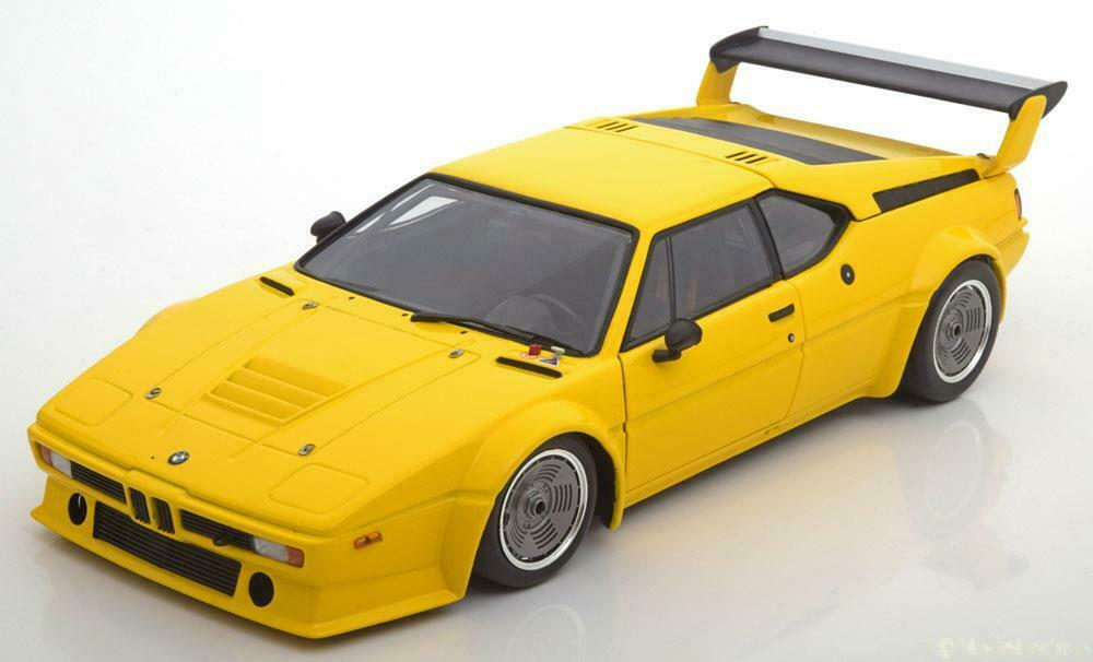 BMW M1 E26 PROCAR PLAIN BODY VERSION 1979 giallo MINICHAMPS 180792998 1 18 giallo