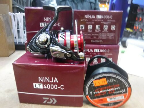 Daiwa Ninja LT 4000-C Match /& Feeder Reel 2019 * Gratuit Daiwa ST 6 lb environ 2.72 kg