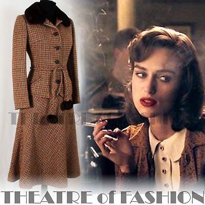 Bene Giacca Cappotto Suit Gonna In Tweed Tartan 40s 50s 30s Vintage Mansfield Vamp Shearling-mostra Il Titolo Originale Tieniti In Forma Per Tutto Il Tempo