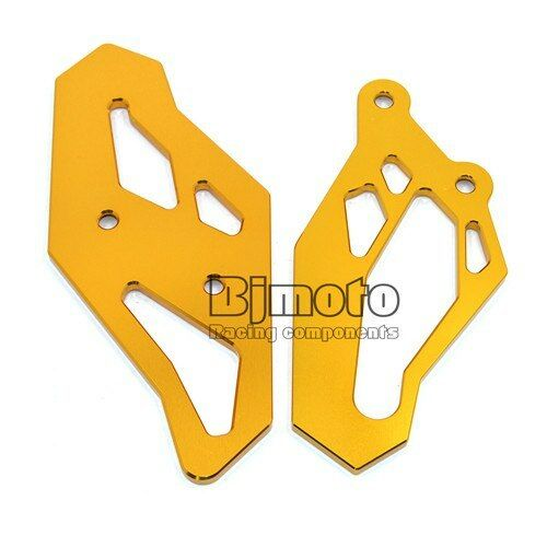 CNC Footrest Rearset Foot Peg Plate Guard For Yamaha R3//R3 ABS//R25//MT-25 //MT-03
