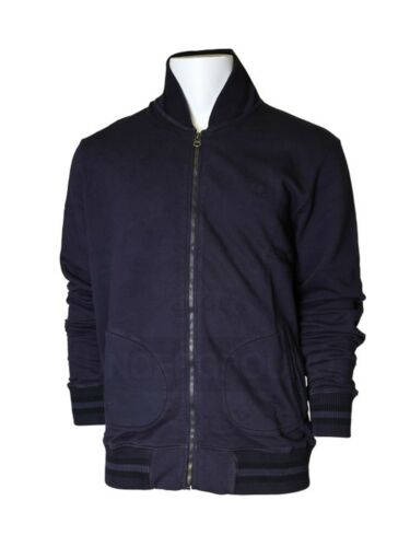 Fred Perry entrenador//chaleco hooded ZIP Sweat Navy j1224p 226 5611