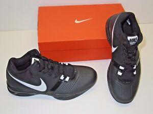 f7d41dfd047e Nike Air Visi Pro V 5 Basketball Black   White Athletic Sneakers ...