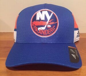size 40 ed39f f1cd5 Image is loading Adidas-New-York-Islanders-2017-Draft-Structured-Flex-