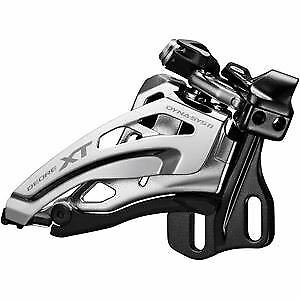 Shimano Deore  XT Deore XT M8020-E double front derailleur, E-type, side swing  high quality & fast shipping
