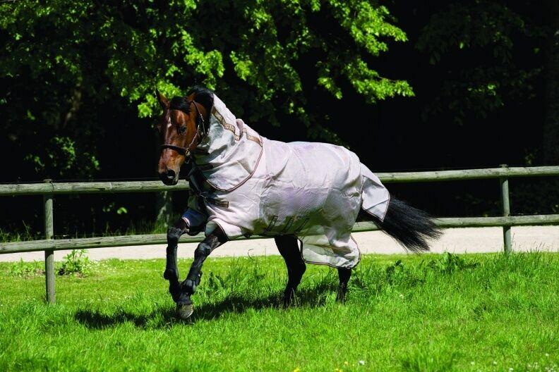 Horseware Rambo Protector Fliegendecke Weidedecke Sommerdecke Größe wählbar