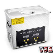 Industry Ultrasonic Cleaner 3l Heated Degas Ultra Sonic Cleaning Supplies