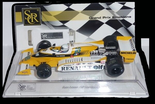 SLOT SRC  Ref. 02102  F1 Renault  GP. G. BRETAÑA 1979 1 32  New