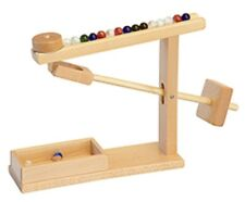 Mechanical MARBLE MACHINE Amish Handmade Quality Play Toy Office Therapy USA
