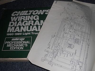 1981 FORD F-SERIES F100 F150 F250 F350 TRUCKS WIRING ...