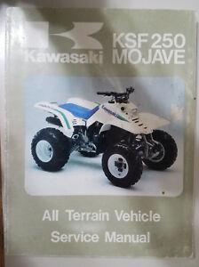 KSF250 Mojave Clymer Kawasaki ATV Repair Manual 1987-2004 M385-2