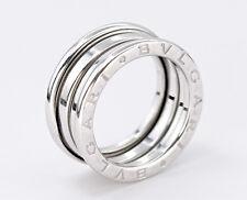 bvlgari bulgari bzero 1 3band ring size us 575 18k white gold