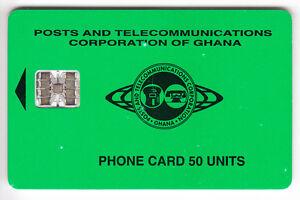 AFRIQUE TELECARTE - PHONECARD .. GHANA 50U SC7 PTC 09-97 V° 8N°R H-G CHIP-PUCE eNW4zdlA-09090620-469283680