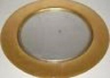 Partylite Medici Silver & gold CANDLE TRAY FOR PILLARS OR 3 WICKS