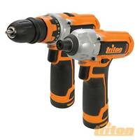 12v Drill Driver And 12v Impact Driver Twin Pack Triton T12tp 972446