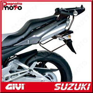 T255-TELAIETTI-SPECIFICI-PER-BORSE-SOFFICI-LATERALI-SUZUKI-GSR-600-2006-gt-2011