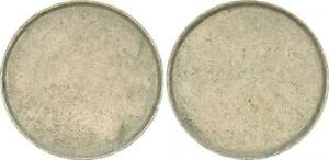 2 DM Blank Max Planck Frg (1) Lack Coinage, (44734)