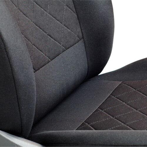 Schwarz Sitzbezüge für HONDA HR-V HRV Autositzbezug VORNE