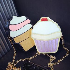 Women-Girl-Cute-Ice-Cream-Satchel-Shoulder-Crossbody-Messenge-Handbag-Bag-Purse