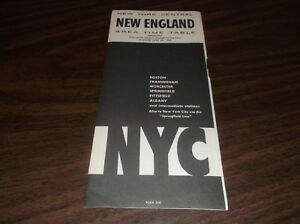 APRIL-1966-NEW-YORK-CENTRAL-NYC-NEW-ENGLAND-FORM-500-PUBLIC-TIMETABLE