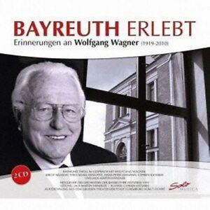 RAYMOND-THOLL-BAYREUTH-ERLEBT-2-CD-NEW-WAGNER-RICHARD