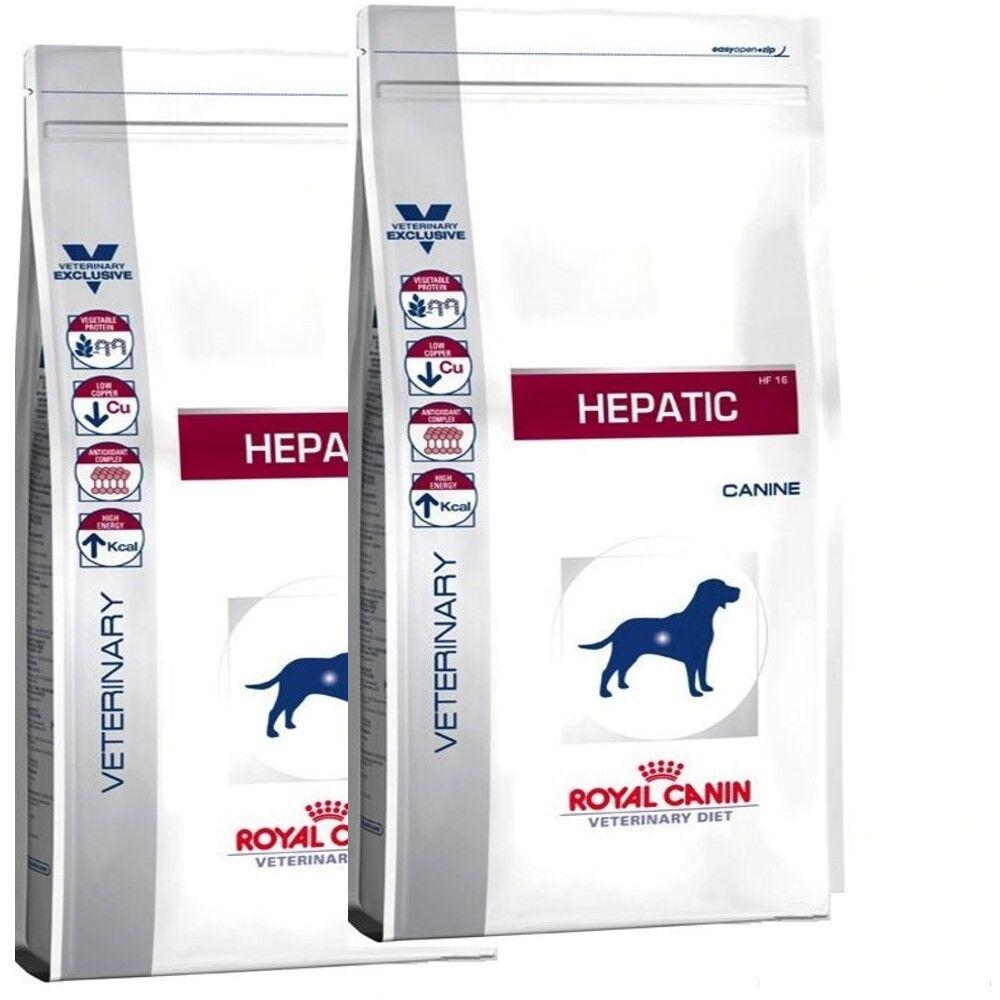 2x 12kg ROYAL CANIN Hepatic HF 16 Hunde HF16 Vet. Diet von BRAVAM Blitzversand