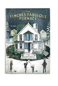 The Finches' Fabulous Furnace Vintage 1974 1st Ed Scholastic PB TX 2618