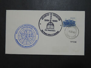 South-Africa-1985-Neumayer-Station-Antarctic-Cover-2-Cachet-Z9565