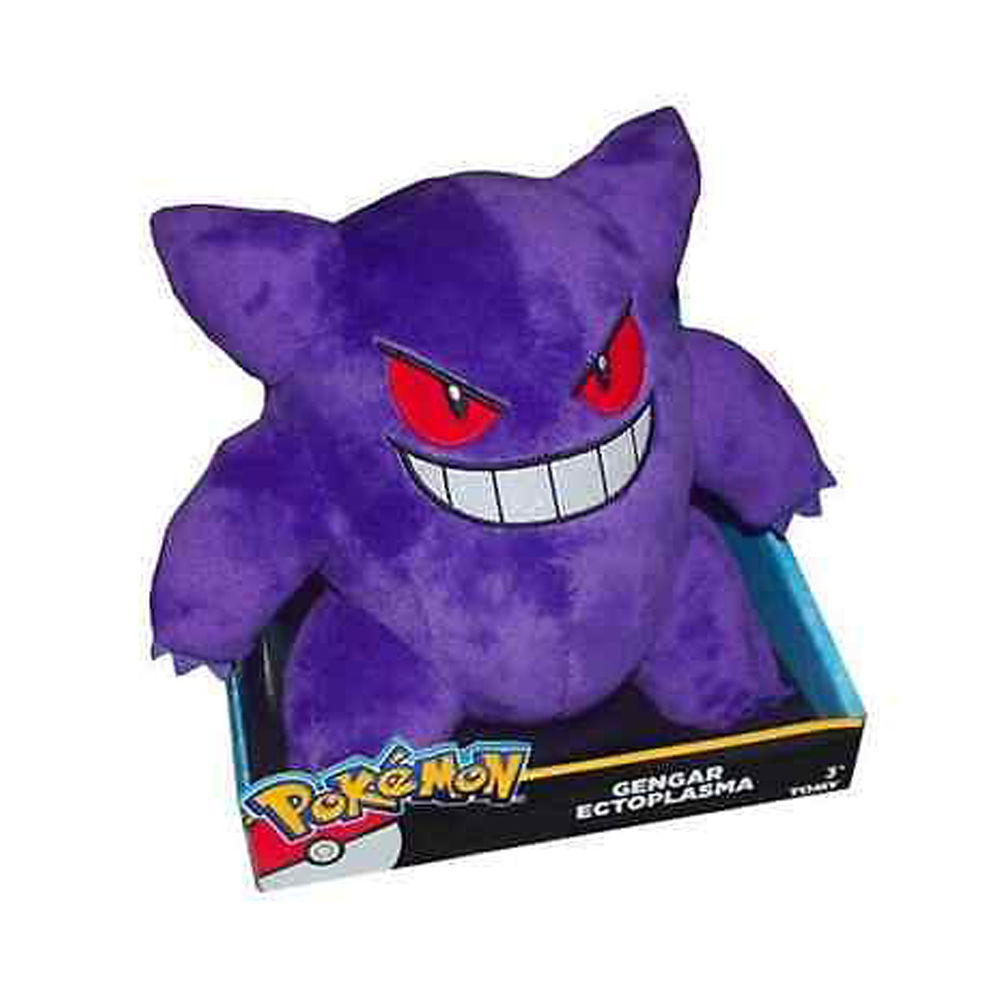 Genuine Pokemon Gengar Ectoplasma Plush Toy Tomy Tomy Tomy 3+ fe1196