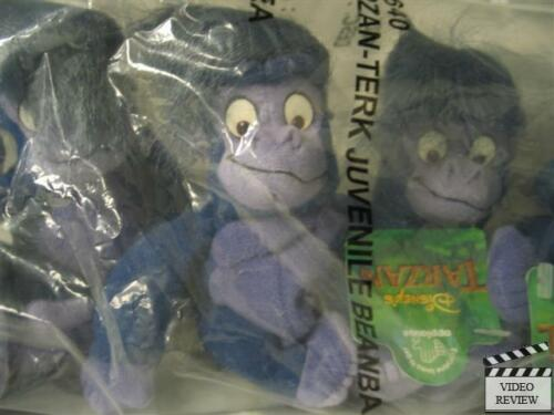Tarzan Baby Terk beanbag doll Disney; Applause NEW from factory SEALED bag