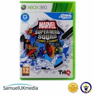 Marvel-Super-Hero-Squad-Comic-Combat-Xbox-360-GREAT-CONDITION