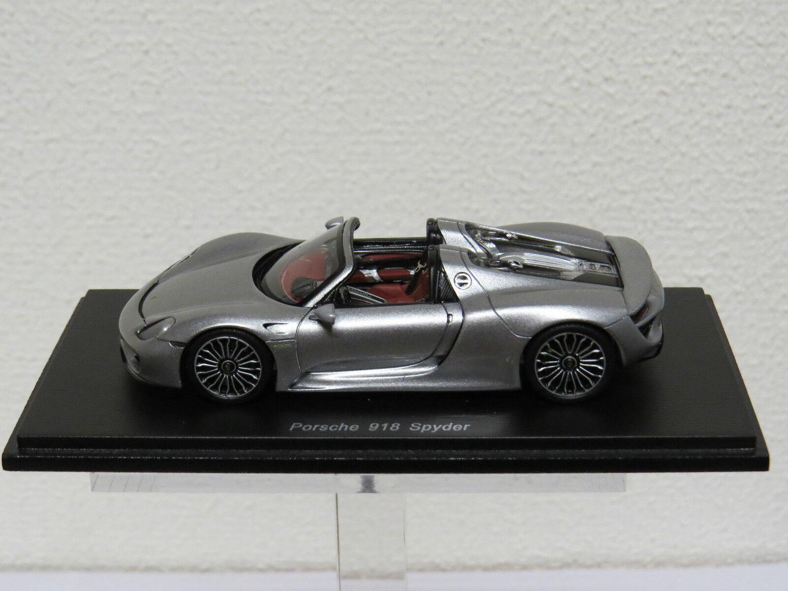 Porsche 918 Spyder Spark S4244 1 43 gris