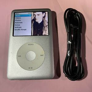 Apple Ipod Classic 6th Gen 160gb Silver Ebay