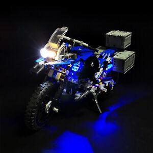 USB LED Licht Beleuchtung Set Für LEGO Technic 42063 Für BMW R 1200 GS