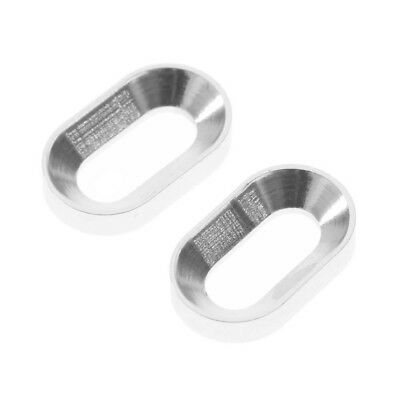 Hot Racing RC HOR88908 Silver Motor Mount Oval Washer