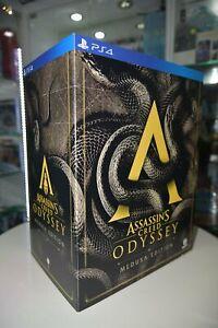 Novo Ps4 Assassin S Creed Odyssey Hk Colecionador Limitada Medusa