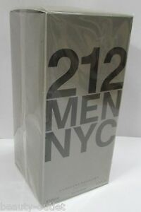 Carolina-Herrera-212-MEN-EDT-200ml-6-7oz-Eau-de-Toilette-NEW-Hombres-Homens-Man