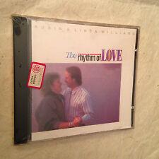 ROBIN & LINDA WILLIAMS CD THE RHYTHM OF LOVE SH-CD-1027 1990 COUNTRY