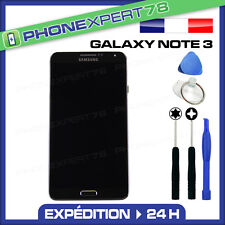 VITRE TACTILE + ECRAN LCD SAMSUNG GALAXY NOTE 3 N9005 NOIR + OUTILS