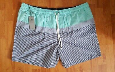 2019 Ultimo Disegno Marks And Spencer Aqua Mix Quick Dry Pantaloncini Nuoto Xxl Rrp £ 25-mostra Il Titolo Originale