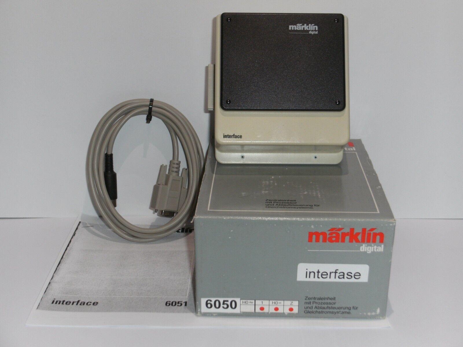MÄRKLIN DIGITAL DIGITAL DIGITAL Interface 6050   6051 Verbindungsgerät zum PC, in OVP  | Billig  69991a