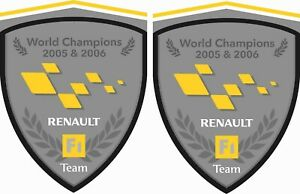 Renault-F1-Team-Megane-Clio-Twingo-RS-R-S-80mm-Wing-Decals-Stickers-styling