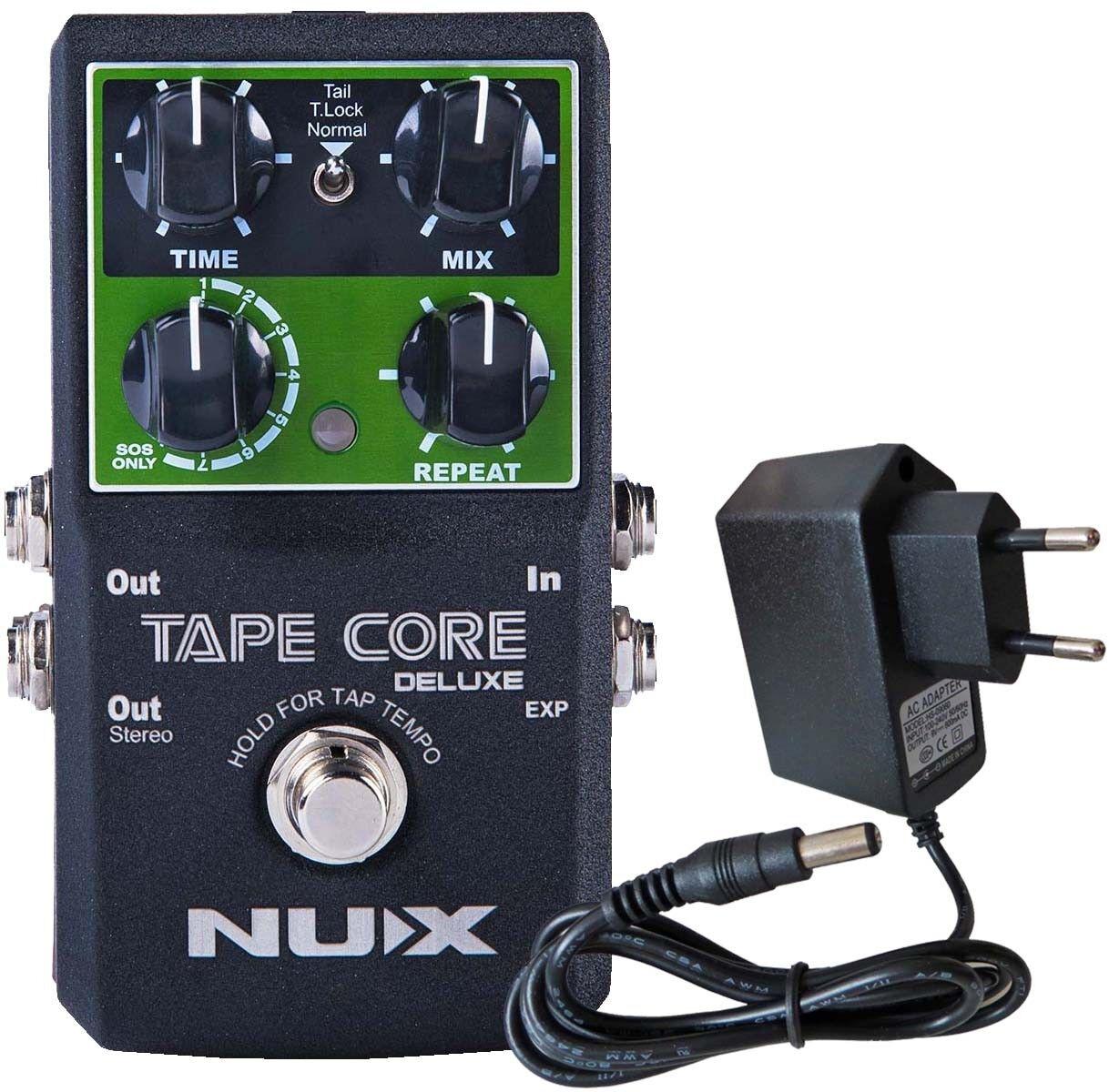 Nux Rond Rond Rond Core Deluxe Processeur D'Effets Delay Pédale + Keepdrum 9v feaae9