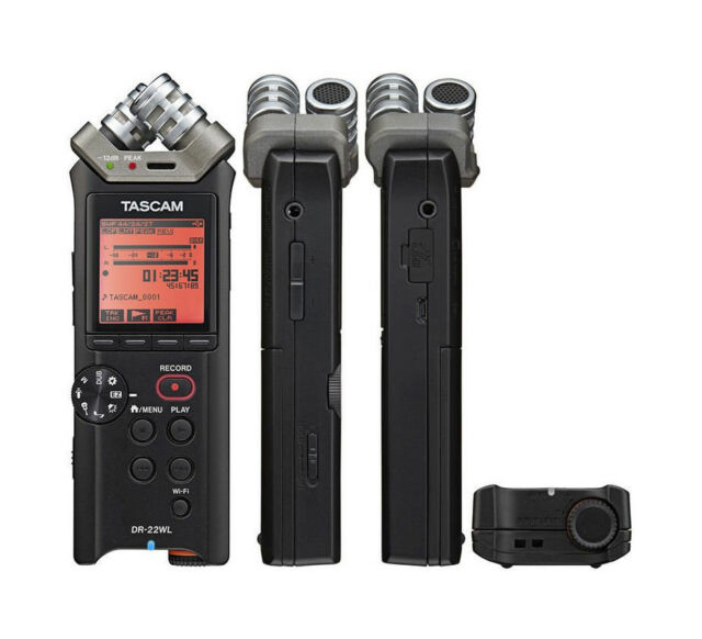 TASCAM DR-22WL - DIGITAL RECORDER PORTABLE Wi-Fi