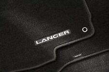 Genuine Mitsubishi Carpeted Floor Mat 4 Pc Set Mitsubishi Lancer 02 - 07 Black