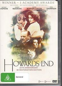 HOWARD-039-S-END-DVD-NTSC4-Anthony-Hopkins-25TH-ANNIVERSARY-EDITION-LIKE-NEW
