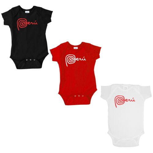 Marca Peru Creeper Bodysuit for Babies One PieceCountry TravelPerucousa