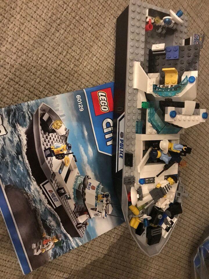 Lego City, Politi