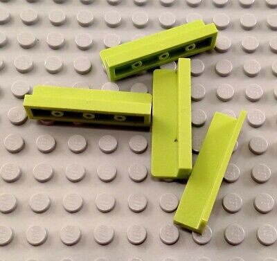 LEGO New Lot of 8 Lime Green 1x4x1 Wall Panel Pieces Creator