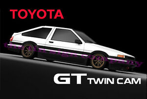 Toyota Corolla Gt Twin Cam Sign Great Gift For Any Car Guy
